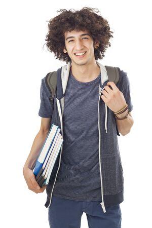 学生の若い男