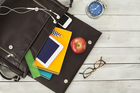 School bag Stok Fotoğraf - 48217691