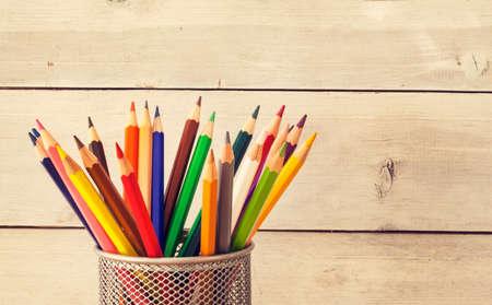 colour pencils: Colorful pencils