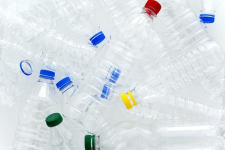 water bottles: Plastic water bottles Stock Photo