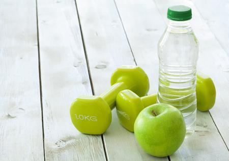 salud y deporte: Concepto de fitness