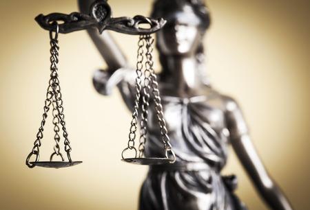 justiz: Recht und Gerechtigkeit-Konzept