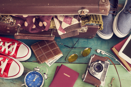 maleta: Maleta de vacaciones