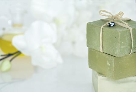 natural soap: Natural soap