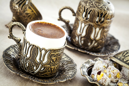 delight: Turkish coffee with turkish delight