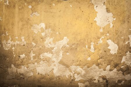 cracked concrete: Cracked concrete vintage wall Stock Photo