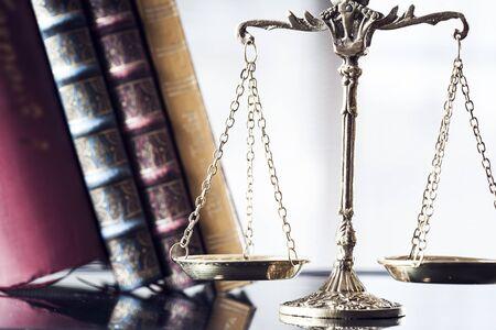 judicature: Justice concept