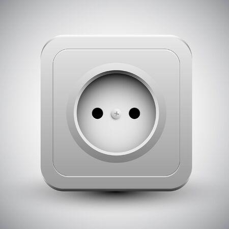 socket Stock Vector - 17547679