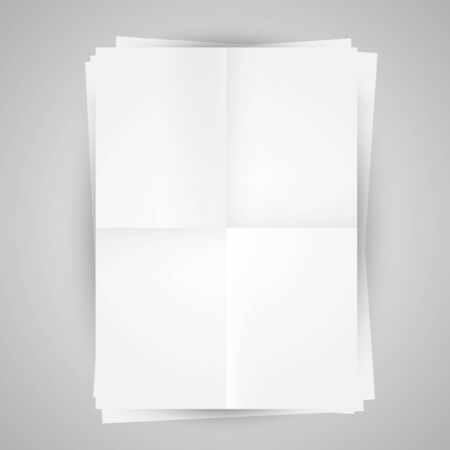 Blank papers Stock Vector - 17547630