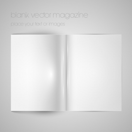 mag: Blank magazine paper