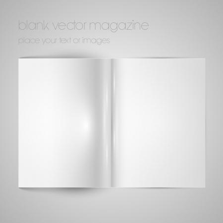 mag: Papier magazine Blank Illustration