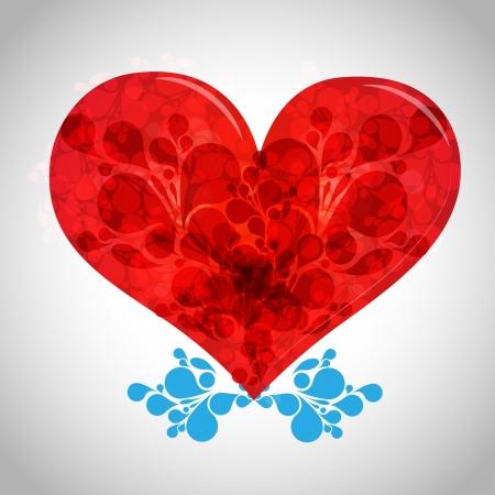 Valentine s day illustration Vector