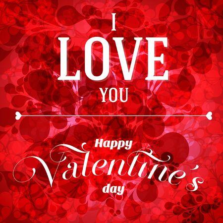Valentine s day flyer Vector