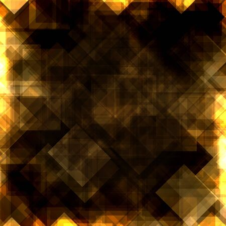 Gold squares background Stock Vector - 17529255