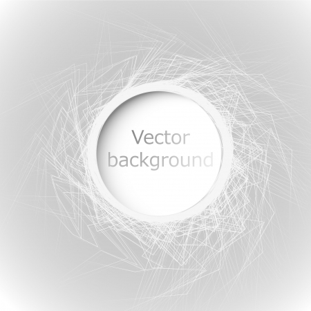 Abstract web design bubble 일러스트
