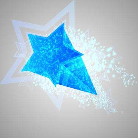 Blue star Stock Vector - 17548270