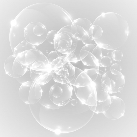 Abstract bubble achtergrond