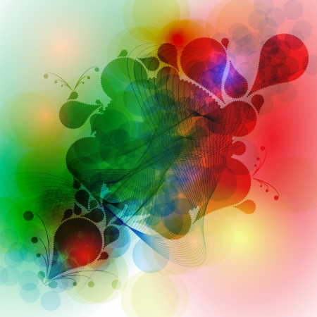 Colorful abstract background vector Stock Vector - 17617949