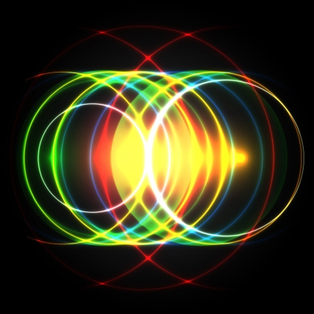 Shiny colorful vector circles Stock Vector - 17615595