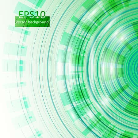 Green vector circles in eps10 Stock Vector - 17618004