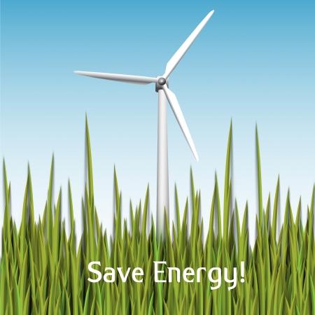 Save energy vector Stock Vector - 17898685