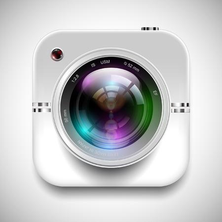 ilustrace ikonu kamery Ilustrace