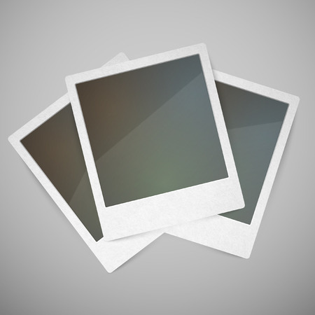 Vector photo frames Illustration