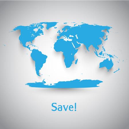 vector symbol: World vector symbol Illustration