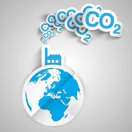 save the planet: Factory blows out CO2