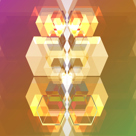 connection block: Abstract background Illustration