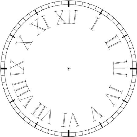 Vector vintage reloj Ilustración de vector