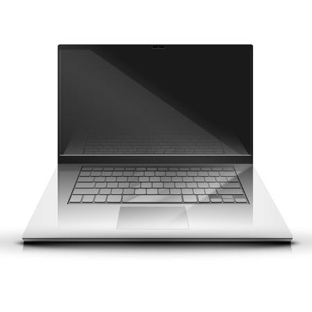 laptop screen: A laptop screen display illustration