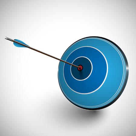 dartboard: Arrow and a dartboard
