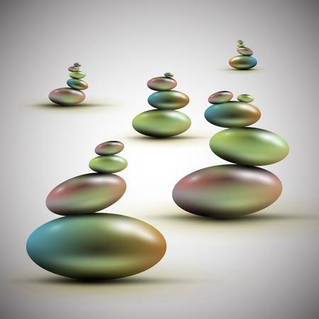 spa stones: Spa stones, vector