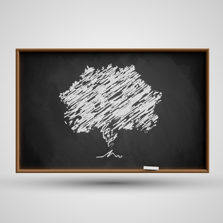 Blackboard, vector Vector