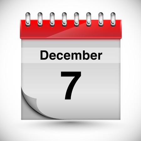 december: Calendar for december