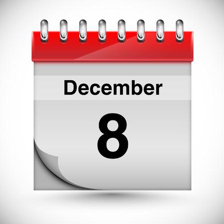 diciembre: Calendario para diciembre