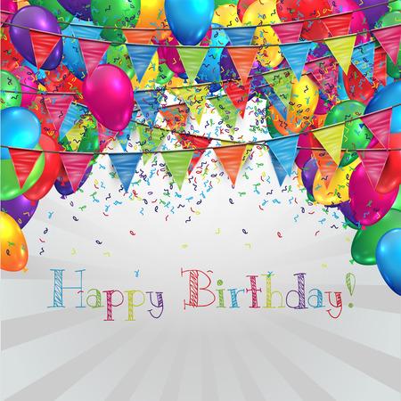 Ilustración para el cumpleaños o cualquier celebración