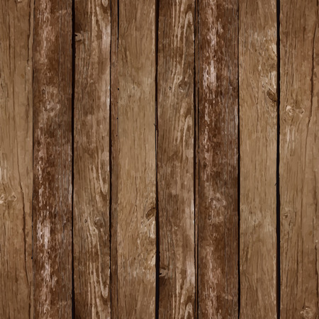 Vector wood plank background Vectores