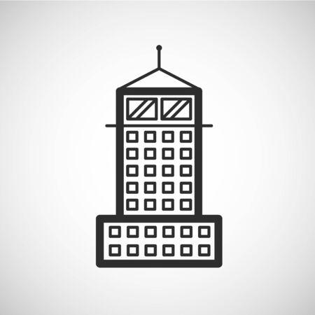 pcs: House type icon, vector