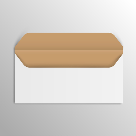 Business realistic envelope, vector