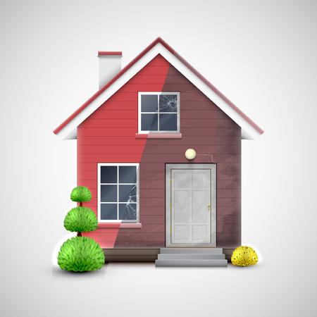 renewal: Home Renewal, vector