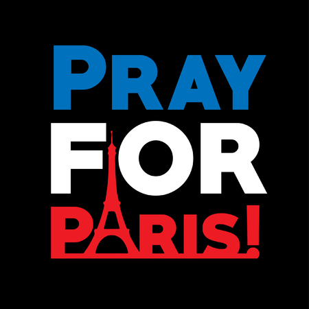 pray for paris flyer vector royalty free cliparts vectors and
