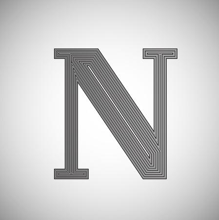 saver: Ink saver character - less ink while printing Illustration