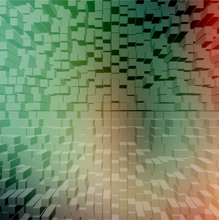 building structure: Colorful blocks, vector background Illustration