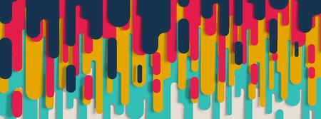 Layered abstract background, vector Vektoros illusztráció