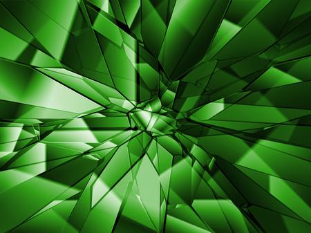 Broken glass background, vector Banque d'images - 125061792