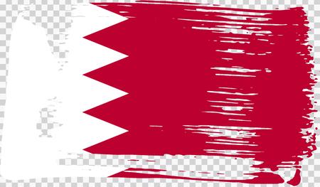 Grounge-styled flag, vector illustration Foto de archivo - 124971629