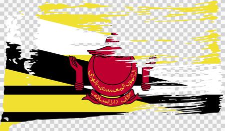 Grounge-styled flag, vector illustration Foto de archivo - 124971631