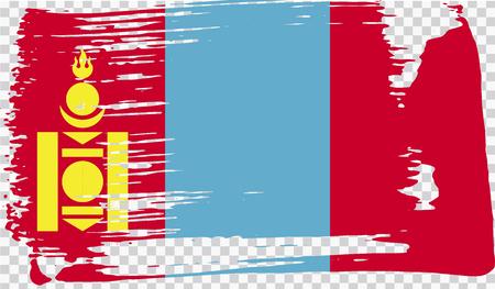 Grounge-styled flag, vector illustration Foto de archivo - 124971642